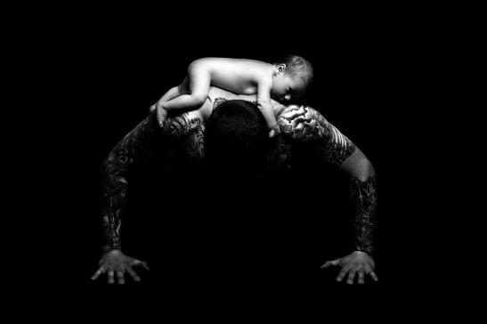 anderledes babybillede