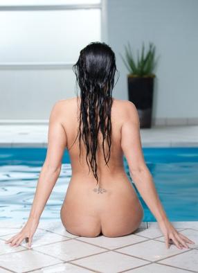 boduoir ved swimming pool