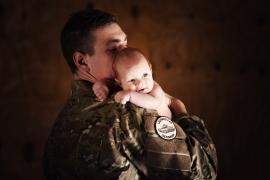 far og søn til fotograf i Haderslev