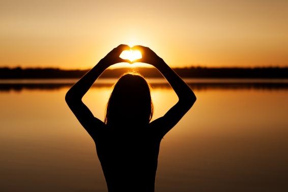 fotografering i solnedgang