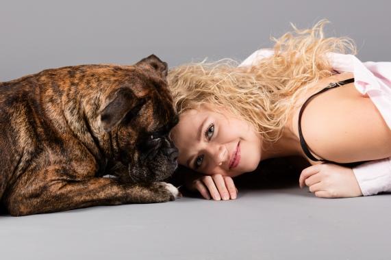 fotografering med din hund
