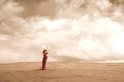 gravidfotografering sand