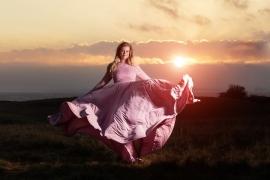 maternity dress photoshoot