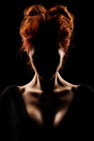 rødhåret potrætbillede