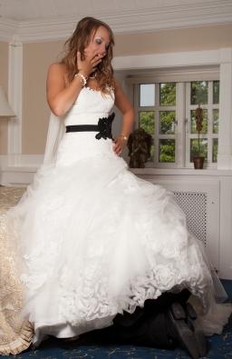 sjovt brudebillede