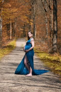 gravid kjole fotografering